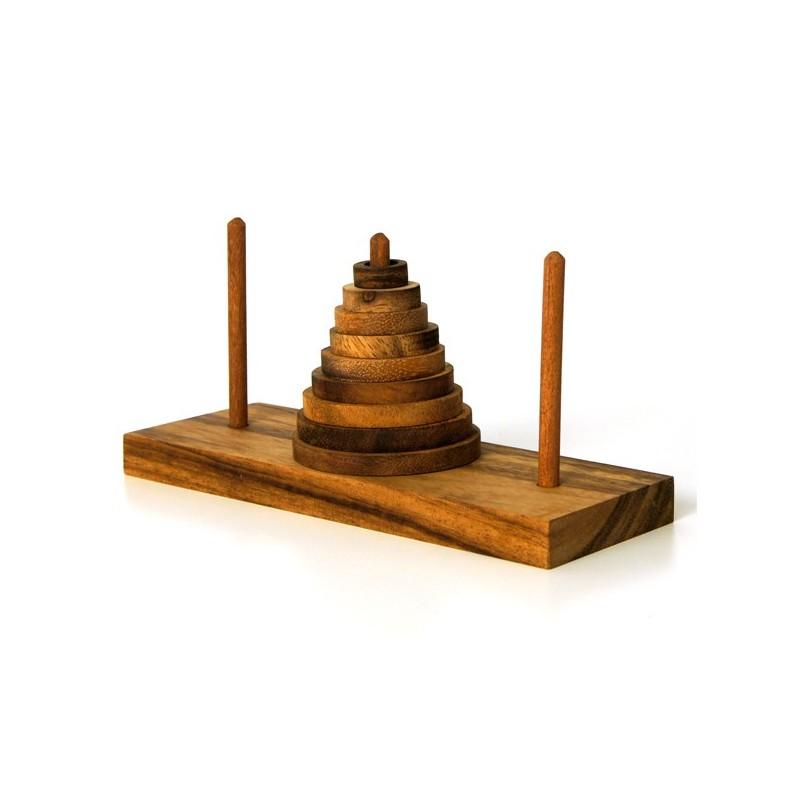 La tour d'Hanoï (9 Pièces)
